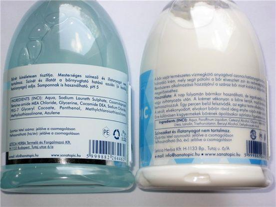 kozmetikumok pikkelysömör kezelésére)